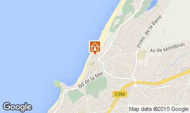 Map Anglet Apartment 57075