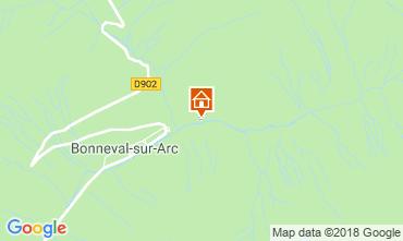 Map Bonneval sur Arc Apartment 116963