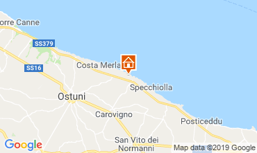 Map Ostuni Villa 118210