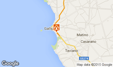 Map Gallipoli Apartment 99290