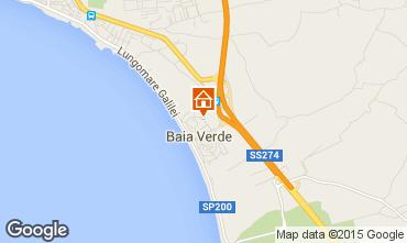 Map Gallipoli Apartment 99290