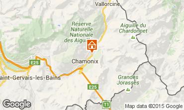 Map Chamonix Mont-Blanc Chalet 682