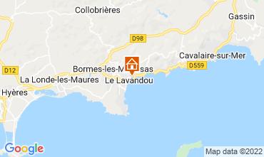 Map Le Lavandou House 69513