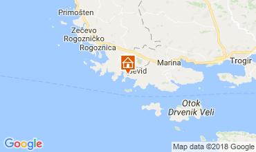 Map Trogir House 114405