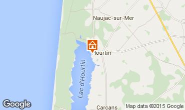 Map Hourtin House 78677