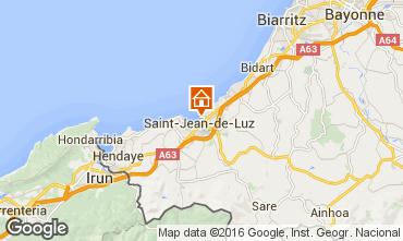 Map Saint Jean de Luz Apartment 76153