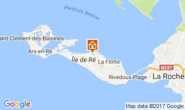Map Saint Martin de Ré House 108028