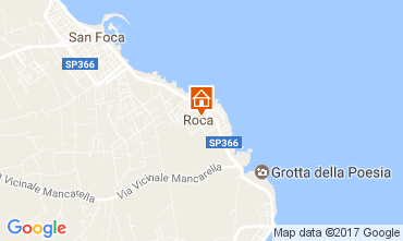 Map Torre dell'Orso Apartment 103852