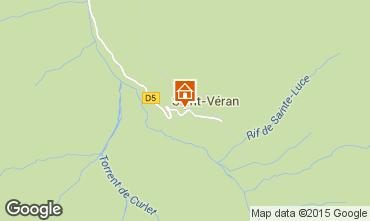 Map Molines Saint-Véran Apartment 67854