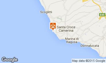 Map Punta Secca Apartment 73910