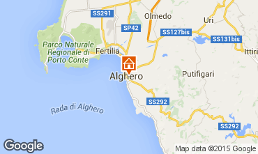 Map Alghero Apartment 78463