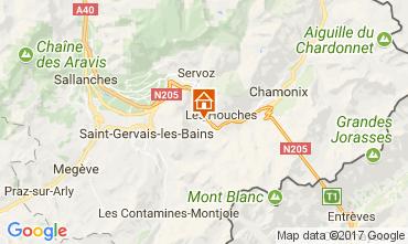 Map Chamonix Mont-Blanc Apartment 16023