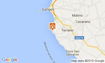 Map Gallipoli Villa 71459
