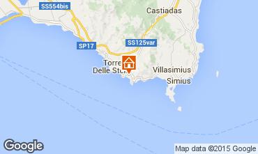 Map Solanas Villa 96883