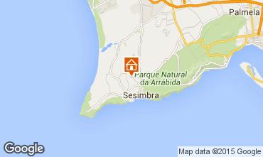 Map Sesimbra Apartment 43905