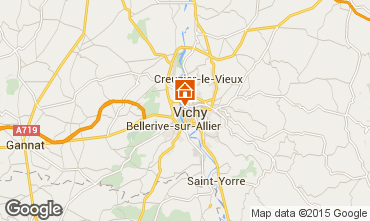 Map Vichy Apartment 92716