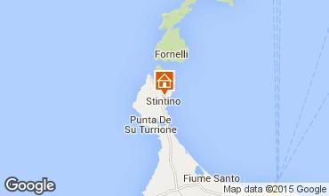 Map Stintino Studio apartment 46170