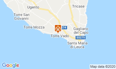 Map Ugento - Torre San Giovanni Apartment 118768