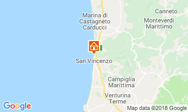 Map San Vincenzo Apartment 117083