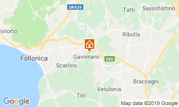 Map Gavorrano Villa 118750