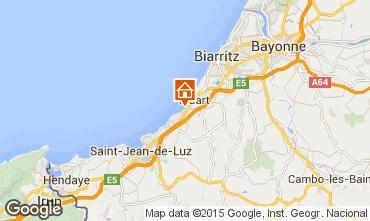 Map Biarritz Apartment 96607