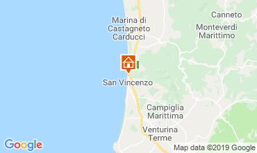 Map San Vincenzo Apartment 117333