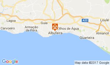 Map Albufeira Apartment 105739