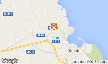 Map Otranto Apartment 77627