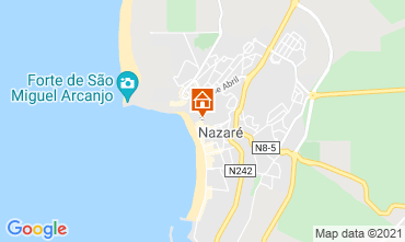 Map Nazaré Apartment 68798