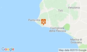 Map Castiglione della Pescaia Apartment 89159