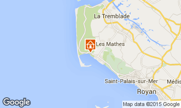 Map Les Mathes Mobile home 81017
