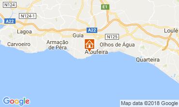 Map Albufeira Apartment 113722