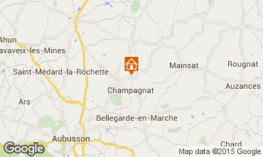 Map Gouzon Chalet 95887