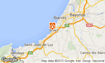 Map Biarritz Apartment 67987
