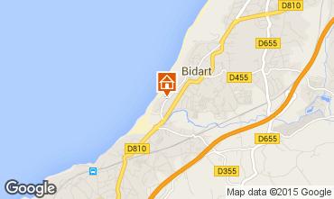 Map Biarritz Apartment 67987