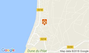 Map Pyla sur Mer Villa 114292