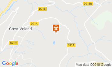 Map Crest Voland Cohennoz Self-catering property 117204