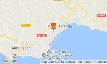Map Almuñecar Apartment 115717