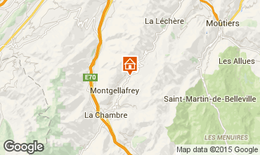 Map Saint François Longchamp Apartment 67175