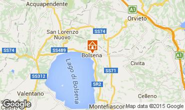 Map Bolsena Apartment 68505