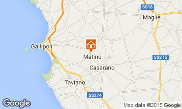 Map Gallipoli Apartment 97824