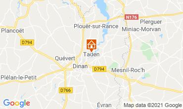 Map Saint Malo House 7563