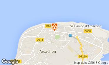 Map Arcachon Apartment 75914
