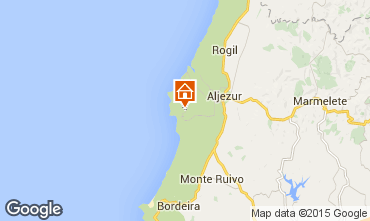 Map Aljezur Villa 67750