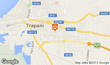 Map Trapani Apartment 92341