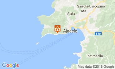 Map Ajaccio Studio apartment 114480