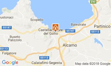 Map Castellammare del Golfo Apartment 113723