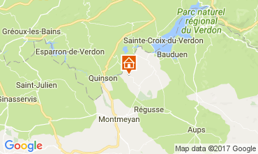 Map Artignosc-sur-Verdon House 109482