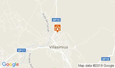 Map Villasimius House 113165