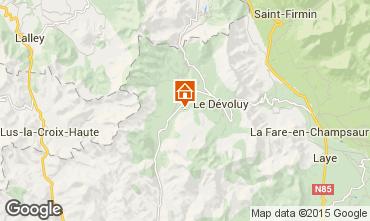 Map La joue du Loup Chalet 65858